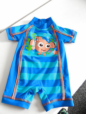 ❤ DISNEY Gorgeous Boys Finding Nemo 3-6 Months Swimsuit Swimwear Bodysuit