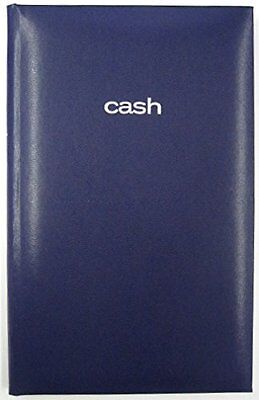 """Mead Cash Book, 9-9/16"""" x 6-1/8"""", 160 Pages, Hardbound Blue Cover (64516)"""