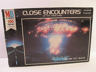 Close Encounters Of The Third Kind Puzzle 1977 Mb Sealed Mint #4871-2
