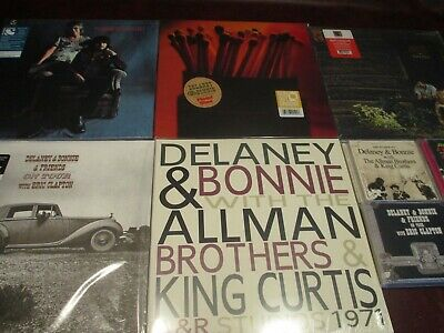 Bonnie & Delaney On Tour + Allman Brothers & Motel Shot & Russell Set + 6 Cd Set