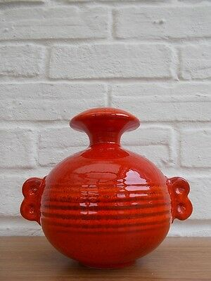Ruscha German Vintage 60s Mid Century Modernist Pop Art Korfu Fat Lava Vase