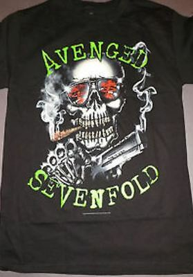 Avenged Sevenfold- NEW Smoking Gun T Shirt- 2XLarge SALE FREE SHIPPING TO U.S.!