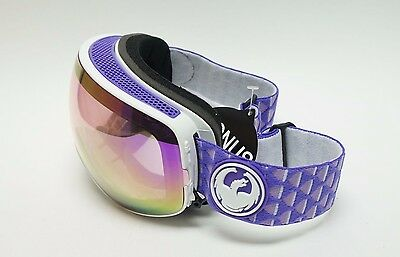 DRAGON Alliance X2s Snow Goggles, Lumalens - White / Pink Ion / RX2/30