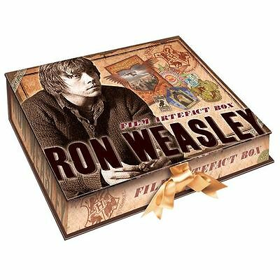 HARRY POTTER RON WEASLEY COFANETTO - howarts Quidditch HOWLER Lettera ufficiale