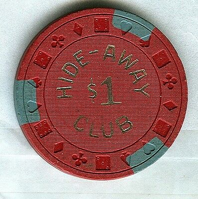 HIDE-AWAY CLUB CASINO (WENDOVER) $1 CHIP (N5162) (AVG).xls