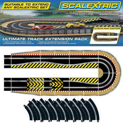 SCALEXTRIC C9019J Sport Track Extension Kit -  C8514 + 8x C8206