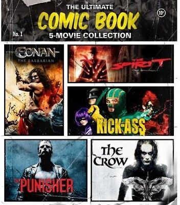 The Ultimate Comic Book 5-Movie Collection [New Blu-ray] 3 Pack, Ac-3/Dolby Di