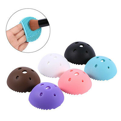 MakeUp Washing Brush Egg Cleaning Glove Silicone Cleaners Tool Cleaners