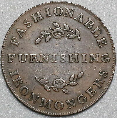 1813 GEALE & MACBRIDE 1/2 Penny Dublin Ironmongers Withers 1813 RRR (17040816R)