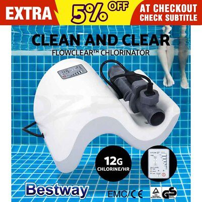 Bestway Flowclear™ Chlorinator Pool Cleaner Swimming Pool Chemicals Clarifiers