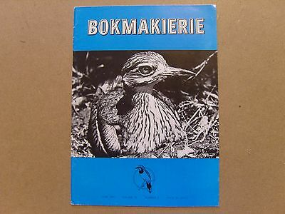 Bokmakierie Magazine - June 1967 - South African Ornithological Society