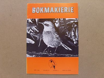 Bokmakierie Magazine - September 1968 - South African Ornithological Society