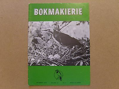 Bokmakierie Magazine - December 1970 - South African Ornithological Society