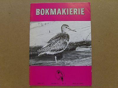 Bokmakierie Magazine - June 1971 - South African Ornithological Society