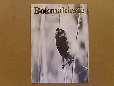 Bokmakierie Magazine - June 1975 - South African Ornithological Society
