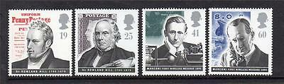 Gb 1995 Mnh Sg1887-1890 Pioneers Of Communications Set Of 4