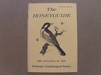 The Honey Guide - April 1968 - Magazine The Rhodesian Ornithological Society