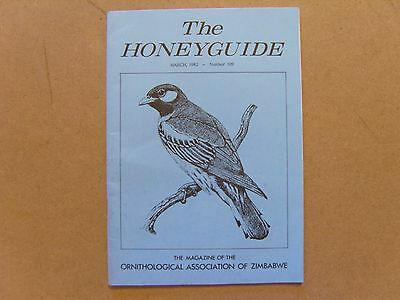 The Honey Guide - March 1982 - Magazine The Rhodesian Ornithological Society