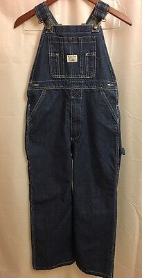 West End Blues Boys or Girls Kids Blue Jean Overalls Size 12