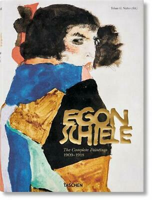 Egon Schiele: Complete Paintings, 1909-1918 by Tg Natter (English) Hardcover Boo