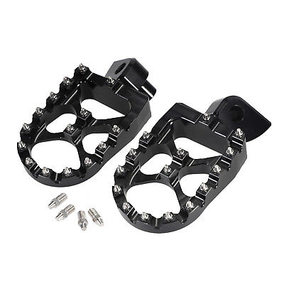 MOTOCROSS WIDE FAT FOOT PEGS FOOTREST for YAMAHA YZ YZF WR 85 125 250 250F 450