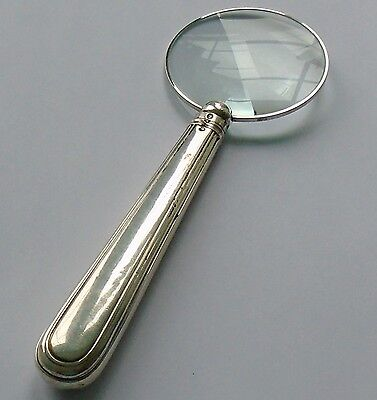Henry Wilkinson HM Silver Handle Magnifying Glass London 1865 Victorian