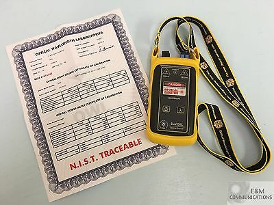 Do-2 Dual Owl St 850Nm Multimode Optical Light Source Tester Nist Cert -20Dbm