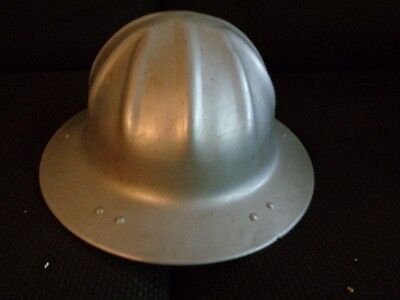 Vintage Metal Aluminum Hard Hat B. F. McDonald Co.