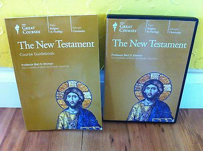 The Great Courses The New Testament 4 Dvd Set Guidebook Great