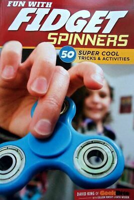 Fun With Fidget Spinners  50 Super Cool Tricks & Activities & Hints