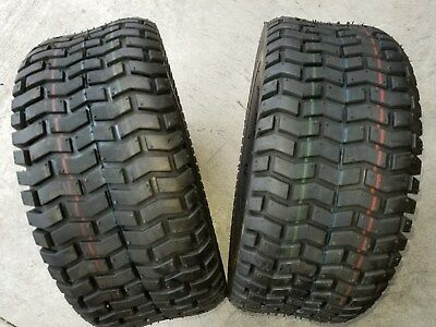 20x8.50-12 HBR Lawnmaster Lawn Mower Tire 20x8.50x12 2Ply Flat Profile