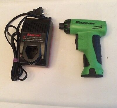 """SNAP ON  - 1/4"""" GREEN 7.2 Volt Cordless Screwdriver , # CTS561CLG & CTC572"""