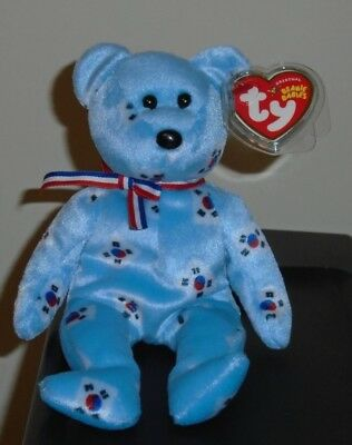 bbd6a32f15c TY BEANIE BABY - SILVER the Bear (Asia-Pacific Exclusive) (8.5 inch ...