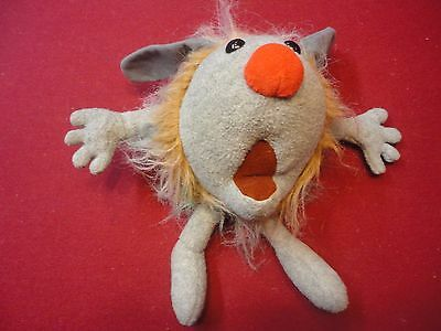 """Vintage """"the Big Comfy Couch Dust Bunny"""" No Reserve"""