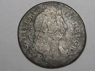 1698 Great Britain Shilling (Low Grade).  #4