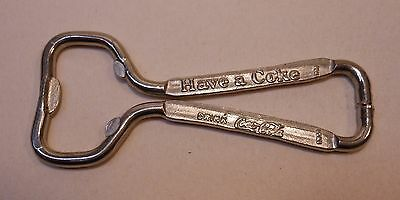 "Vintage Coca Cola 1960's wire type ""Have a Coke"" BOTTLE OPENER"
