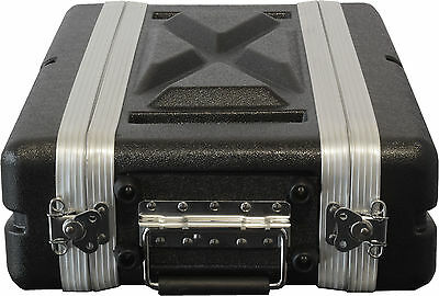 "ABS 2RU 19"" shallow / effects case SAME DAY SHIPPING"