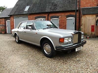 Rolls-Royce Silver Spirit 6.8 auto    Genuine Low Miles Comprehensive History