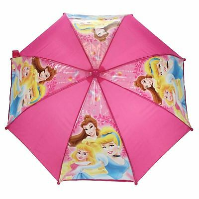 Official Children's Disney Princess Happily Ever After Pink Stick Umbrella