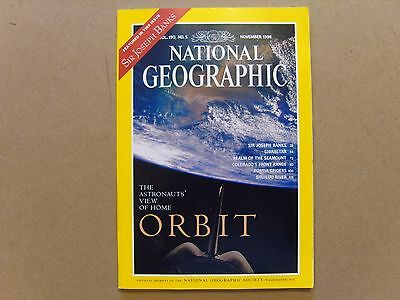 National Geographic Magazine - November 1996 - See Images For Contents