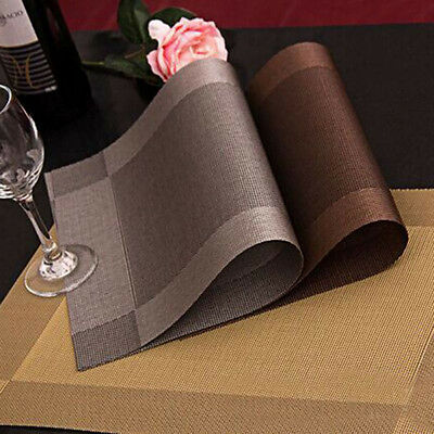 4x Tableware Placemats Insulation Place Mats Table Coasters Kitchen Dining Sales