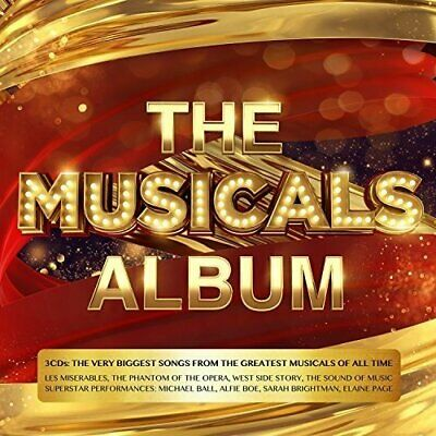 Various Artists - The Musicals Album - Various Artists CD 4DVG The Cheap Fast