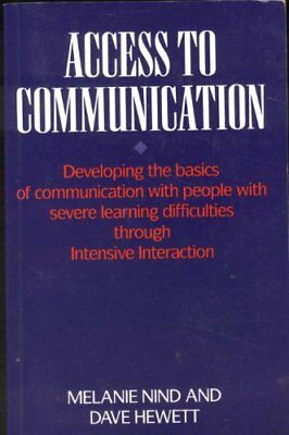 Access to Communication: Developing the Basics of C... by Hewett, Dave Paperback