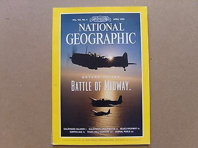National Geographic Magazine - April 1999 - See Images For Contents
