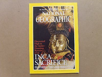 National Geographic Magazine - November 1999 - See Images For Contents