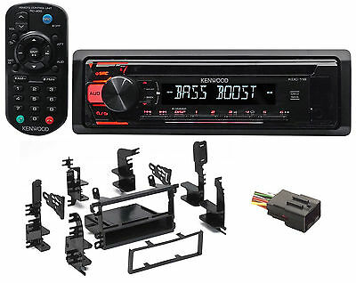CD Receiver w/Aux/Mp3/WMA, 3-Band Eq+Remote For 1999-2003 Nissan Quest