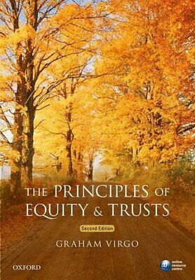 The Principles of Equity & Trusts by Virgo, Graham Book The Cheap Fast Free Post