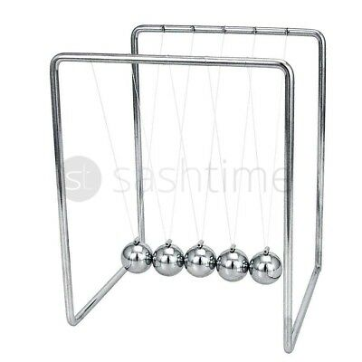 Newtons Cradle Toy Kinetic Balance Balls Physics Science Executive Office Fun
