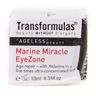 Transformulas Marine Miracle EyeZone Eye Cream Treatment 10ml Damaged Box