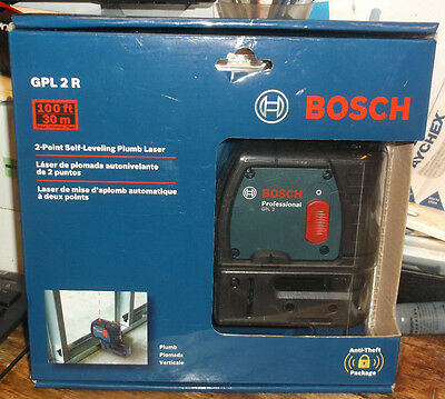 Bosch GPL2 2 Point Self Leveling Laser Level NEW